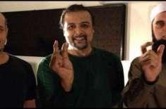"""جنید جمشید ، سلمان احمد اور شاہی کا نیا نغمہ """"چاند ستارہ"""" ریلیز ہوگیا"""