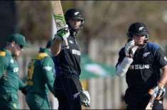 دوسرا ون ڈے : نیوزی لینڈ نے جنوبی افریقہ کو 8وکٹوں سے شکست دیدی