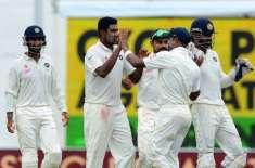 بھارت نے دوسرے ٹیسٹ میں سری لنکا کو 278رنز سے شکست دے کر سیریز 1-1سے برابر ..