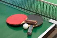ٹیبل ٹینس کھلاڑیوں کی تیاری، صوبے بھر سے 16 لڑکیوں کا انتخاب