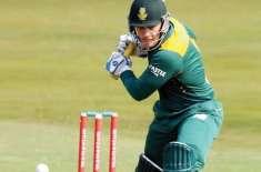 جنوبی افریقہ نے نیوزی لینڈ کو فیصلہ کن ون ڈے میں62رنز سے شکست دے کر سیریز2-1سے ..