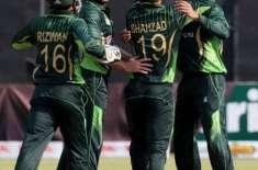 پاکستان نے زمبابوے کیخلاف 2 ٹی ٹوئنٹی میچوں کی سیریز کے پہلے میچ میں13 ..