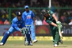 پہلا ایک روزہ میچ، جنوبی افریقہ نے بھارت کو جیتنے کیلئے304رنز کا ہدف ..