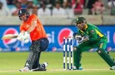 شارجہ میں پاکستان کے خلاف تیسرا اور آخری ٹی ٹوئنٹی میچ جیت کر سیریز ..