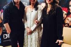 بالی وڈ کے کنگ خان اپنے آنے والی فلم 'دل والے' کی پروموشن کے لیے پاکستانی ..