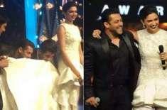 سلمان خان اور دیپکا پڈکون نے بہترین اداکار کا ایوارڈ اپنے نام کر لیا