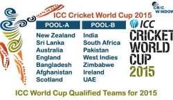 آئی سی سی ون ڈے ورلڈ کپ 2015ء 14 فروری سے آسٹریلیا اور نیوزی لینڈ میں ایک ..