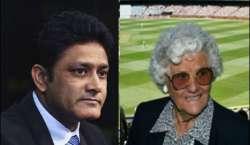 آئی سی سی کا سابق بھارتی کپتان انیل کمبلے اور سابق آسٹریلوی خاتون کرکٹر ..