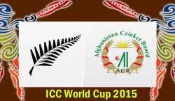 نیوزی لینڈ اور افغانستان کی ٹیمیں رواں ورلڈ کپ کے 31 ویں میچ میں 8 مارچ ..