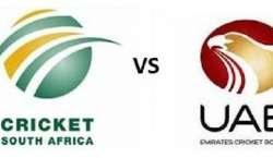 آئی سی سی ورلڈ کپ، جنوبی افریقہ یو اے ای کو 146 رنز سے ہرا کر کوارٹر فائنل ..