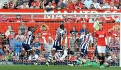 انگلش پریمیر لیگ میں مانچسٹر یونائیٹڈ کو ویسٹ بروم کے ہاتھوں اپ سیٹ ..