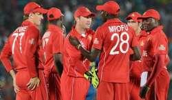 زمبابوے کی ٹیم دورہ پاکستان میں دو ٹی ٹونٹی اور تین ایک روزہ میچ کھیلے ..