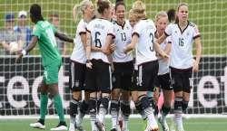 ومینز فٹبال ورلڈ کپ ، جرمنی نے آئیوری کوسٹ کو 0-10 سے روند ڈالا