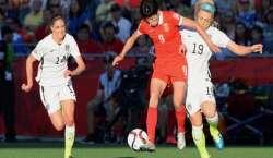ویمن ورلڈ کپ فٹبال ، جرمنی اور امریکہ سیمی فائنل میں پہنچ گئے