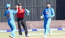 دوسرا ون ڈے ، بھارت نے زمبابوے کو 62رنز سے شکست دے کر سیریز2-0 سے جیت لی