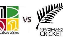 زمبابوے اور نیوزی لینڈ کی کرکٹ ٹیموں کے درمیان تیسرا اور آخری ون ڈے ..
