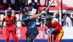 ہرارے ' نیوزی لینڈ نے زمبابوے کو واحد ٹی20 میں 80رنز سے شکست دیدی