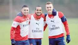 برطانوی فٹبال کلب آرسنل کے کھلاڑیوں کی کرکٹ میں طبع آزمائی