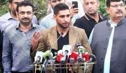 پاکستانی باکسرز کو  مناسب سہولیات میسر آجائیں تو وہ فتوحات کے جھنڈے ..