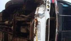 بھارت ، ریاست اڑیسہ میں ٹریفک حادثہ ، 8 کبڈی کھلاڑی ہلاک ، متعدد زخمی