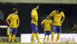 لالیگا فٹبال ، بارسلونا کو اوسط درجے کے کلب سے بدترین شکست