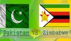 پاکستان ، زمبابوے پہلے ٹی ٹونٹی میں کل مقابل ہوں گے