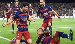 چیمپئنز لیگ فٹبال: بارسلونا نے دلچسب مقابلے میں بائر لیورکسن کے خلاف ..