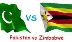 زمبابوے اور پاکستان کے درمیان تین ون ڈے کرکٹ میچوں کی سیریز کا پہلا ..
