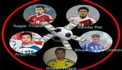 میچ فکسنگ، شبہ میں نیپالی فٹ بال ٹیم کے پانچ فٹ بالرز کو گرفتار