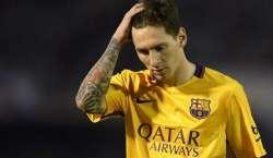 سپین کے محکمہ ٹیکس کا فٹبال سٹار لیونیل میسی کو 22 ماہ کی سزا کا دینے ..