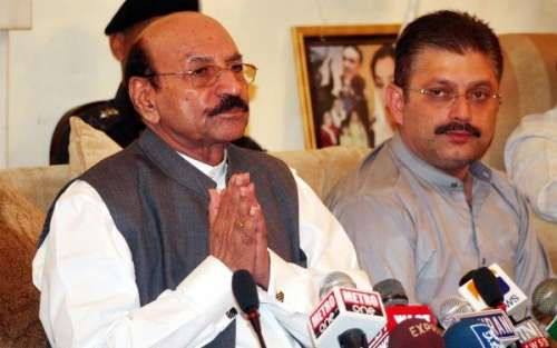 سندھ حکومت مضبوط ہے خود گرنے ..