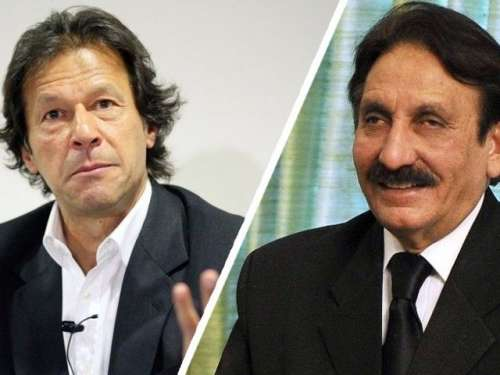 عمران خان نے افتخار چوہدری کے ..