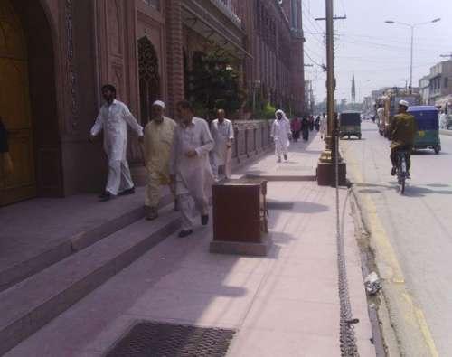 فیصل آباد ، بسم اللہ ٹاؤن میں ..