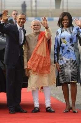 امریکی صدر کا دورہ بھارت ، مودی ..