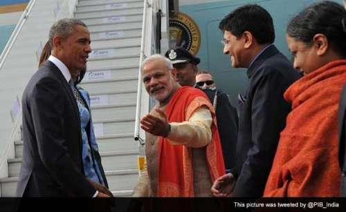 امریکی صدر باراک اوباما کا بھارت ..