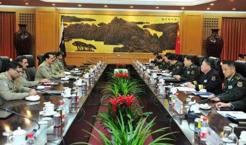 پاکستان اور چین کا دفاعی شعبے ..