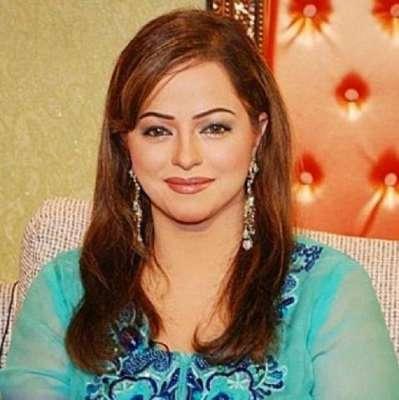 اداکارہ مدیحہ شاہ نے لاہور میں ..