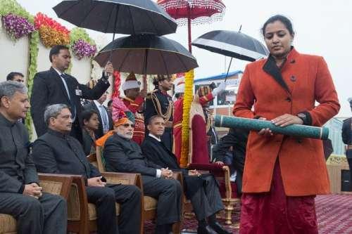 نئی دہلی ،یوم جمہوریہ کی تقریب ..