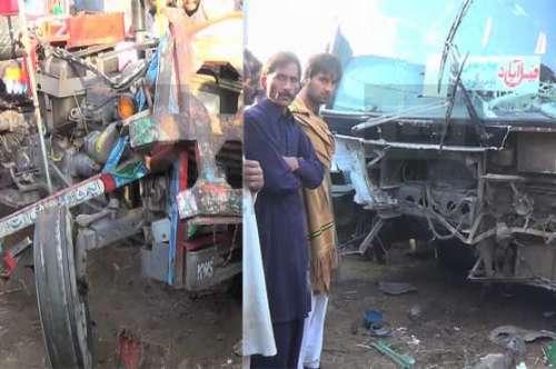 کراچی: ماڑی پور میں میں ٹریفک ..