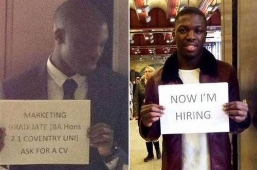کیا نوکری پانے کے لیے کوئی اس ..
