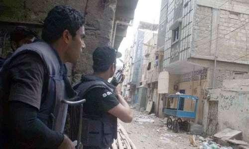 کراچی کے علاقے شیدی گوٹھ میں ..