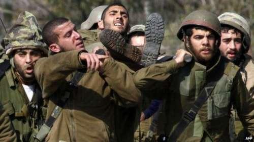 اسرائیلی فوجی قافلے پر حملے ..