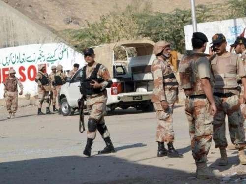 کراچی میں آپریشن بلا امتیاز ..