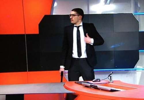 گرفتار ہوئے تو کیا، ٹی وی پر ..