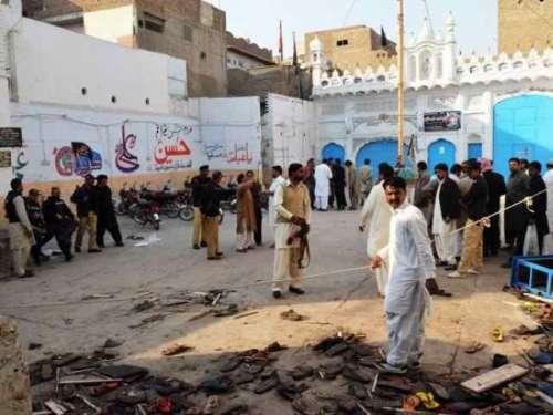 شکار پور: امام بارگاہ میں دھماکا، ..