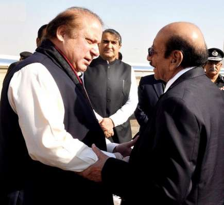 وزیراعظم کے دورہ کراچی کے موقع ..