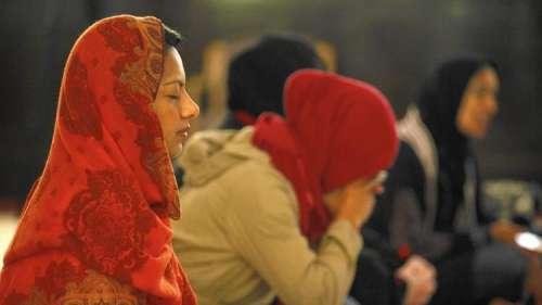 لاس اینجلس میں مسلم خواتین کے ..
