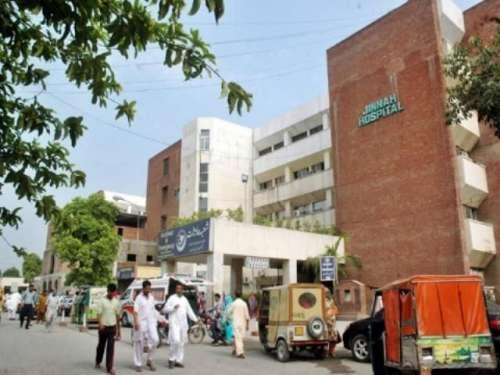 لاہور: جناح اسپتال میں نومولود ..