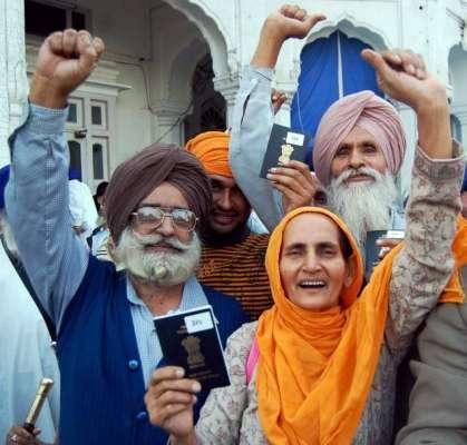بھارت کی سر زمین پر سکھوں کے ..
