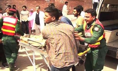 لاہور: یوحنا آباد میں 2 دھماکے، ..